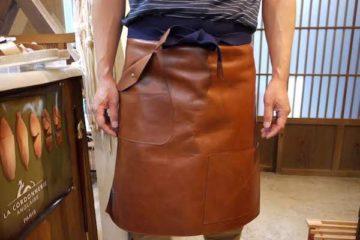 靴職人のエプロン「Shoemaker's apron」